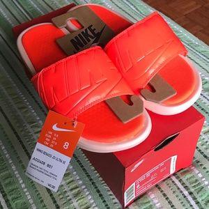 c10208419fff Nike Shoes - NWT Nike Benassi Solarsoft JDI Slide Size 8